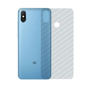 Película Traseira de Fibra de Carbono Transparente para Xiaomi Mi A2 - Gorila Shield