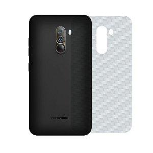 Película Traseira de Fibra de Carbono Transparente para Xiaomi Pocophone F1 - Gorila Shield