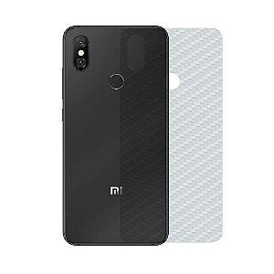 Película Traseira de Fibra de Carbono Transparente para Xiaomi Mi 8 - Gorila Shield