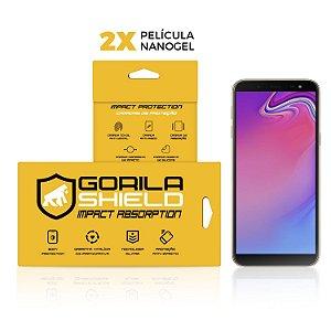Película de Nano Gel Dupla para Samsung Galaxy J6 - Gorila Shield