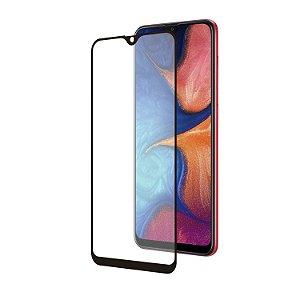 Película Coverage Color para Samsung Galaxy A20 - Preta - Gshield