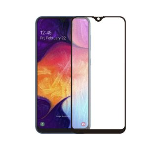 Película Coverage Color para Samsung Galaxy A50 - Preta - Gorila Shield