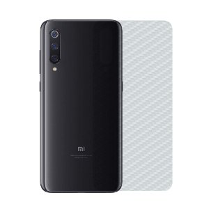 Película Traseira de Fibra de Carbono Transparente para Xiaomi Mi 9 - Gshield