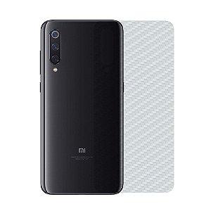 Película Traseira de Fibra de Carbono Transparente para Xiaomi Mi 9 - Gorila Shield