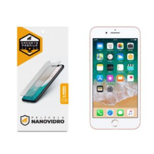 Película de Nano Vidro para iPhone 7 Plus e iPhone 8 Plus - Gshield