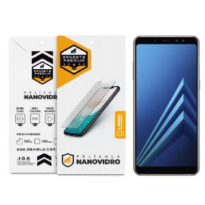 Película de Nano Vidro para Samsung Galaxy A8 Plus - Gshield