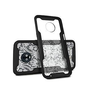 Capa Dual Shock Personalizada Rendada para Motorola Moto Z3 Play - Gorila Shield
