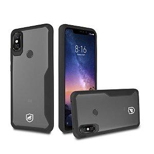 Capa Atomic para Xiaomi Redmi Note 6 Pro - Preta - Gorila Shield