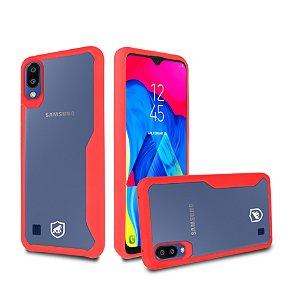 Capa Atomic para Samsung Galaxy M10 - Vermelha - Gshield