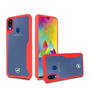 Capa Atomic para Samsung Galaxy M20 - Vermelha - Gshield