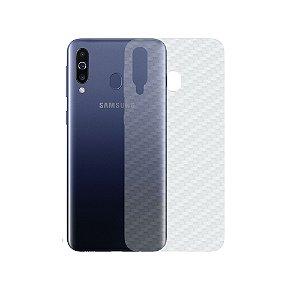 Película Traseira de Fibra de Carbono Transparente para Samsung Galaxy M30 - Gshield