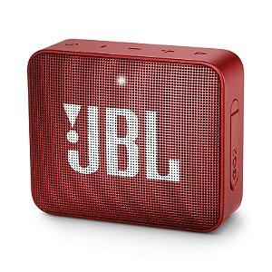 Caixa de Som JBL Go 2 Vermelho - JBL