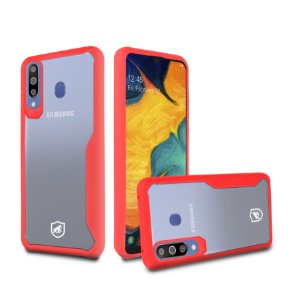 Capa Atomic para Samsung Galaxy A30 - Vermelha - Gorila Shield