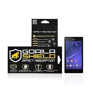 Película de vidro frontal e traseira para Sony Xperia Z2 - Gorila Shield
