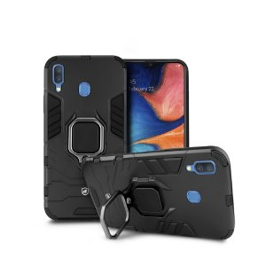 Capa Defender Black para Samsung Galaxy A20 - Gorila Shield