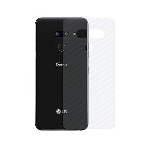 Película Traseira de Fibra de Carbono Transparente para LG G8s ThinQ - Gorila Shield