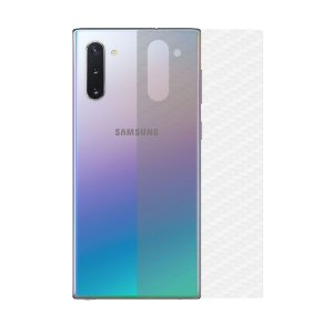 Película Traseira de Fibra de Carbono Transparente para Samsung Galaxy Note 10 Plus - Gorila Shield