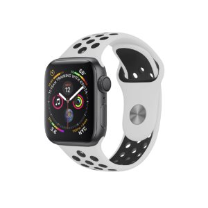 Pulseira para Apple Watch 42mm Armor Running - Branco e Preto - Gorila Shield