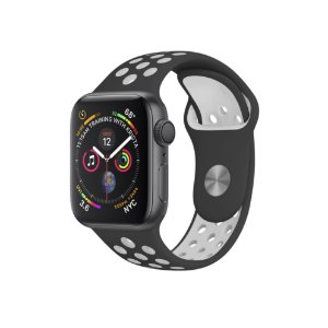 Pulseira para Apple Watch 42mm Armor Running - Preto e Branco - Gorila Shield