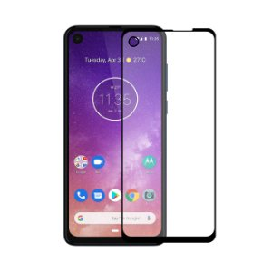 Película Coverage Color para Motorola One Action - Gorila Shield