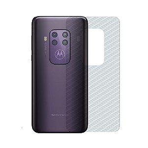 Película Traseira de Fibra de Carbono Transparente para Motorola One Zoom - Gshield