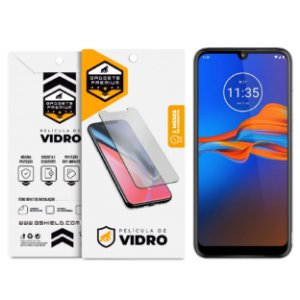 Película de Vidro Dupla para Motorola Moto E6 Plus e E6S - Gshield