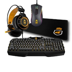Kit Gamer Dual Shock 1 - Gorila Gamer