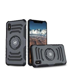 Capa Armband 2 Em 1 Para iPhone X  - Azul Escura - Gorila Shield