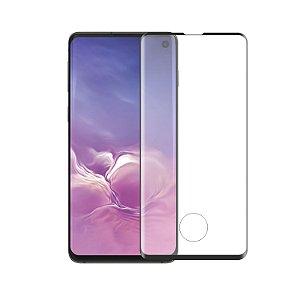 Película Coverage Color de Vidro para Samsung Galaxy S10 - Preta - GShield