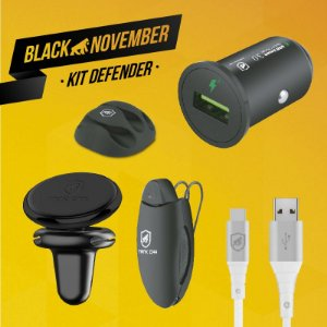 Kit Defender II - Type-C - Black November - Gshield
