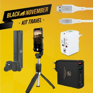Kit Travel II - Type C - Black November - Gshield
