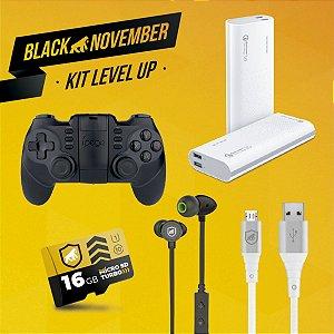 Kit Level Up I - Micro USB V8 - Black November - Gshield