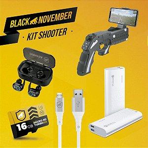 Kit Shooter I - Micro USB V8 - Black November - Gshield