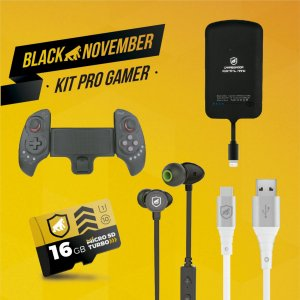 Kit Pro Gamer II - Type C - Black November - GShield