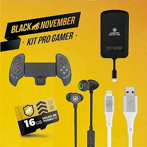 Kit Pro Gamer III - Lightning - Black November - Gshield