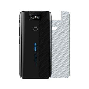 Película Traseira de Fibra de Carbono para Asus Zenfone 6 ZS630KL - GShield