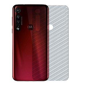 Película Traseira de Fibra de Carbono para Motorola Moto G8 Plus - Gshield