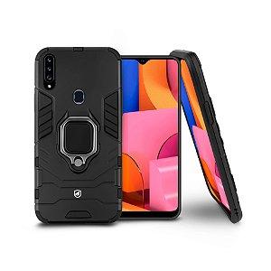Capa Defender Black para Samsung Galaxy A20S - Gshield