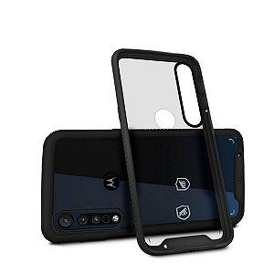 Capa Stronger Preta para Motorola Moto G8 Play - Gshield