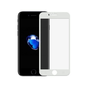 Película Coverage Color Para Iphone SE 2 - Branca - Gshield (Cobre Toda Tela)