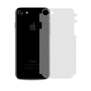 Película Traseira de Fibra de Carbono Transparente para iPhone SE 2 - Gshield