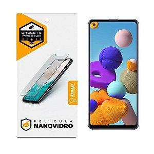 Película de Nano Vidro Para Samsung Galaxy A21S - Gshield