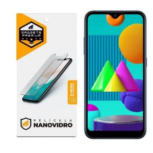 Película De Nano Vidro Para Samsung Galaxy M01 - Gshield