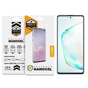 Película De Nano Gel Dupla Para Samsung Galaxy Note 10 - Gshield