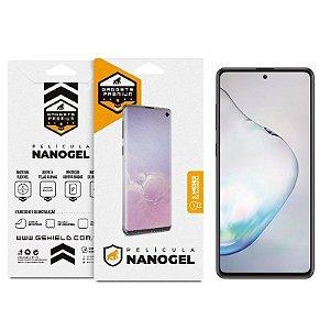 Película De Nano Gel Dupla Para Samsung Galaxy Note 10 Lite - Gshield
