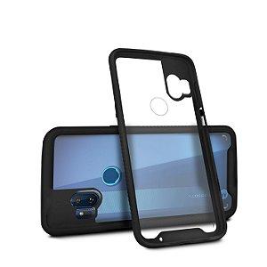 Capa Stronger Preta Para Motorola Moto One Hyper - Gshield