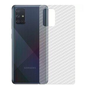 Película Traseira De Fibra De Carbono Para Samsung Galaxy A71 - Gshield