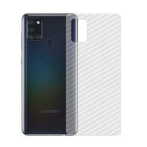 Película Traseira De Fibra De Carbono Para Samsung Galaxy A21s - Gshield