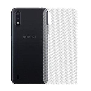 Película Traseira De Fibra De Carbono Para Samsung Galaxy A01 - Gshield