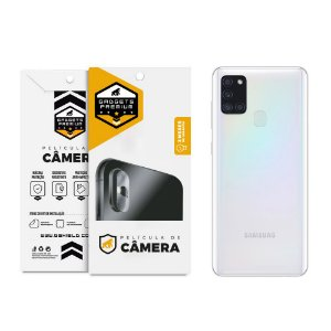 Película Para Lente De Câmera Samsung Galaxy A21s - Gshield